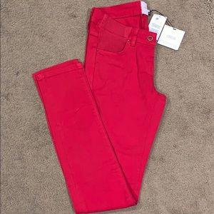 asos Maternity Skinny Leg Red Jeans size 4 NEW